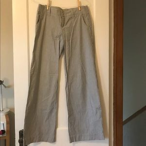 GAP Wide-leg pinstripe pants-Size 6L
